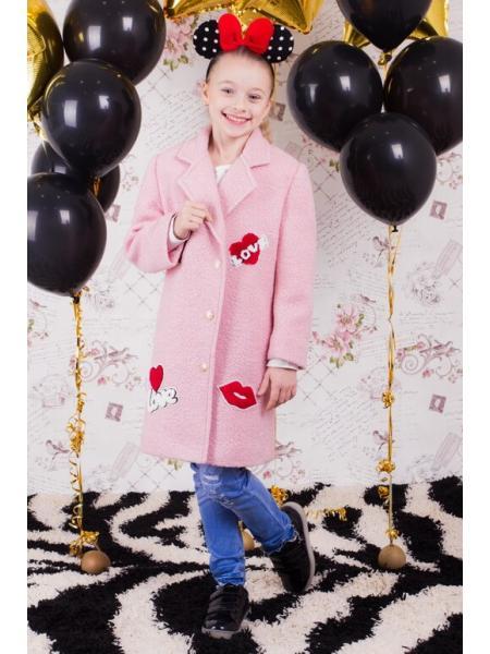 Пальто для девочки Шанталь опт цена от производителя