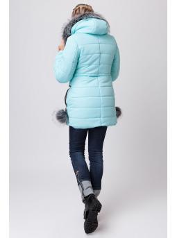 Фото пальто зимнее «синти»