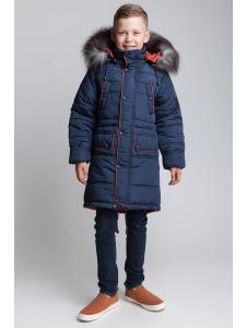 Пальто зимнее для мальчика Бой