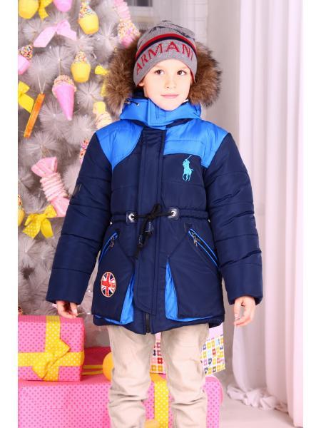 Зимняя парка для мальчика Boy фото