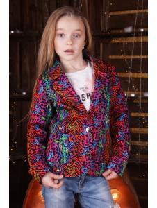 Детский пиджак Радуга