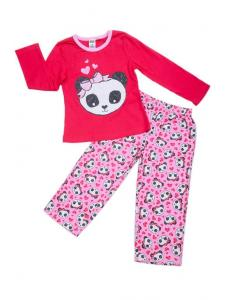 пижама для девочки «панда»