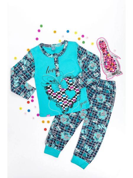 Пижама для девочки Пингвин опт цена от производителя