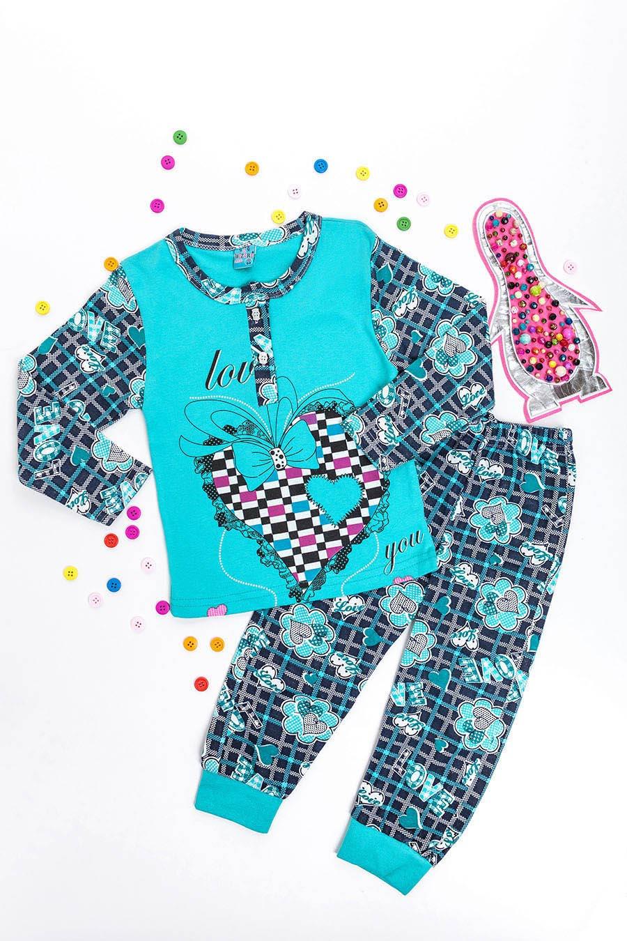 Пижама Для Девочки «Пингвин» ~ Купить Оптом От (5+) 433045cd972c8