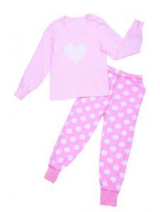 Пижама для девочки Сердце