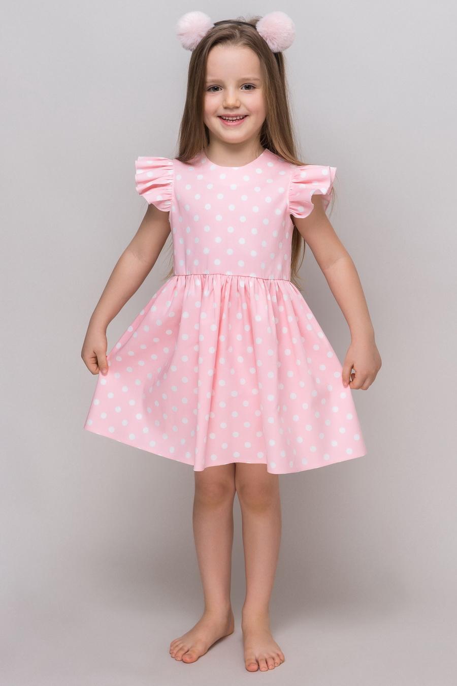 e95acb6c340c7b1 Летнее платье KP-6 для девочки купить оптом в интернет-магазине ...