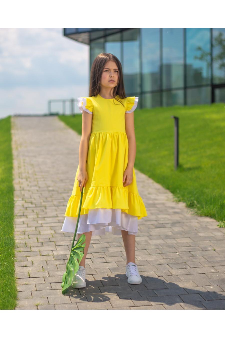 cc966f75283e55e Летнее платье KP-7 для девочки купить оптом в интернет-магазине ...