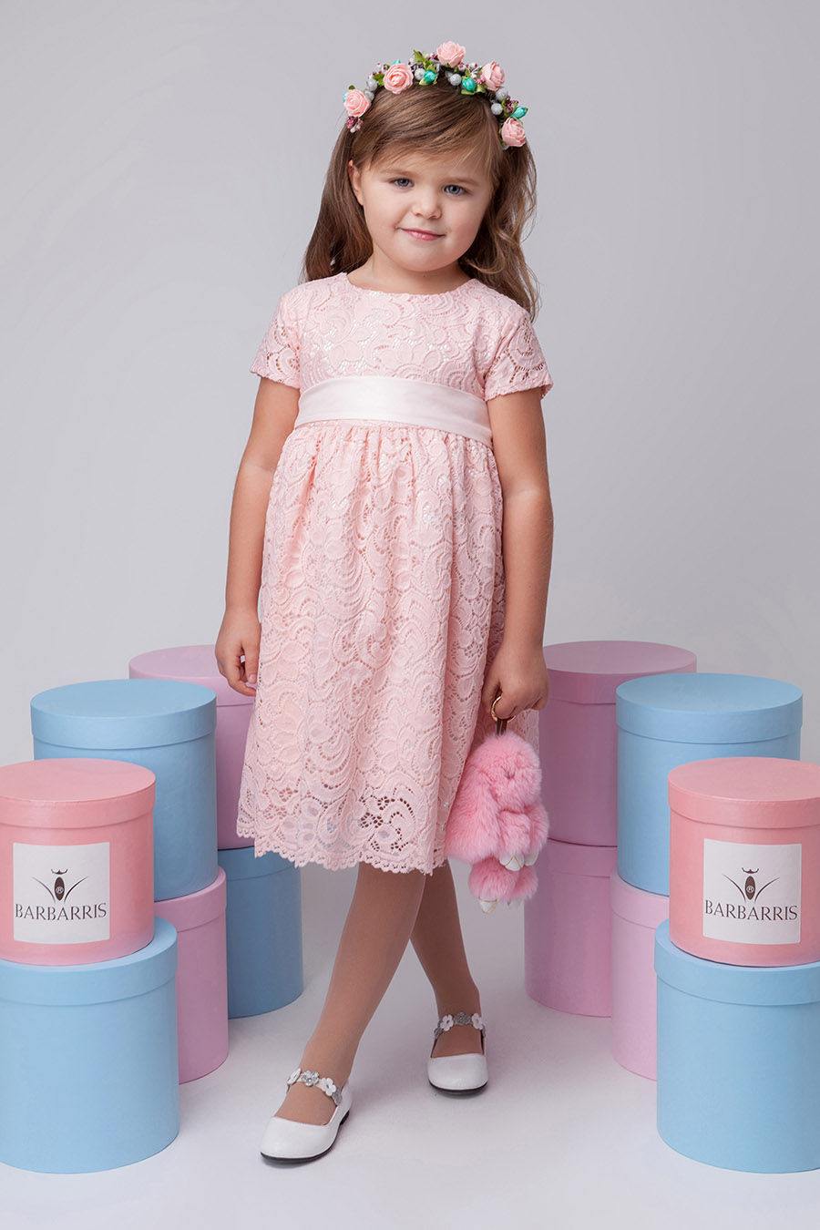 f1d8b8095bf Нарядное Платье Для Девочки «Bn-2» ~ Купить Оптом От (5+)