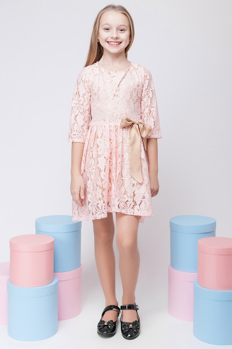 Нарядное платье для девочки «гипюр-2»
