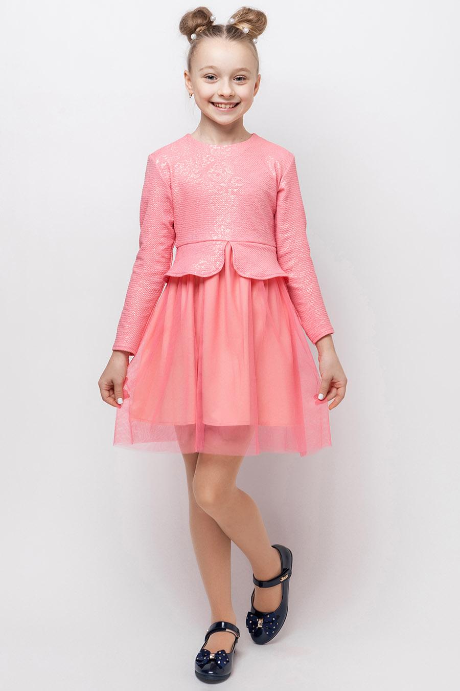 Платье для девочки «гипюр-6»