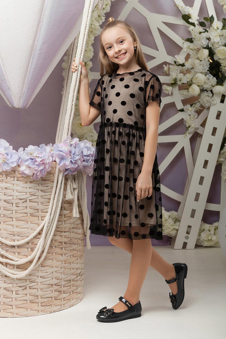 Платье для девочек «sh-65»