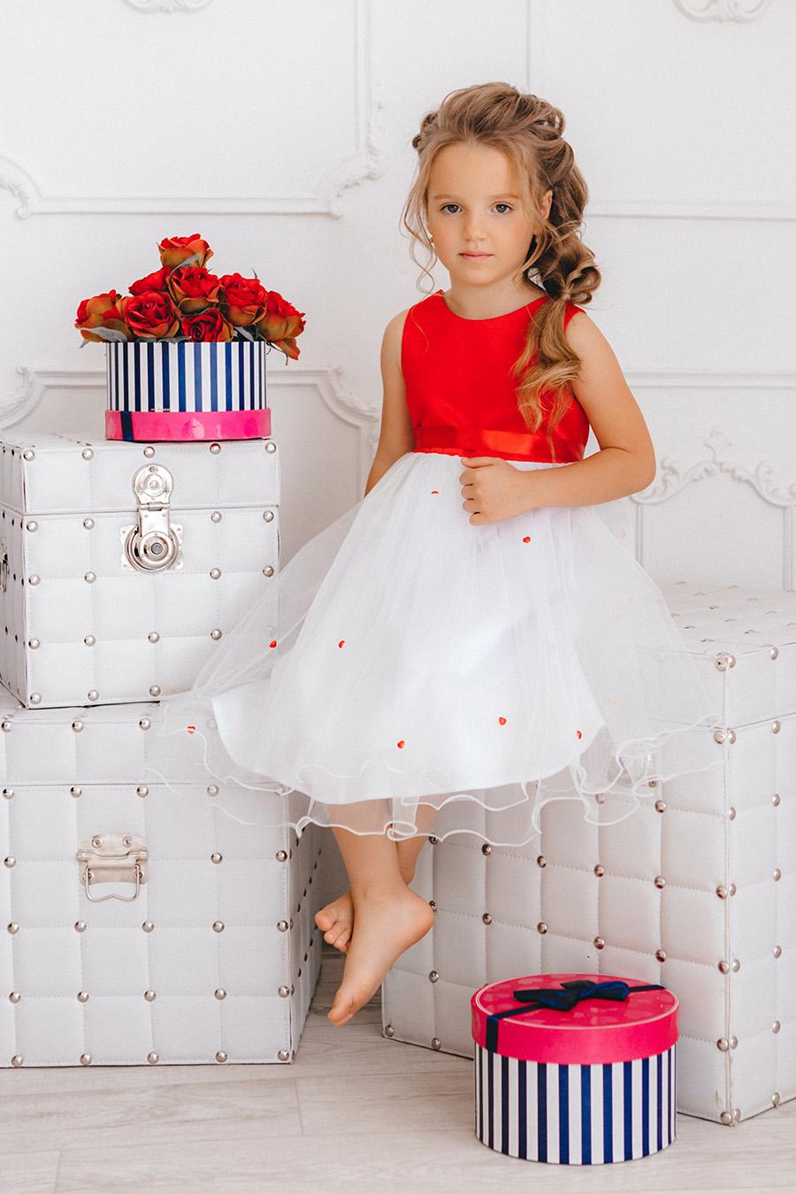 платье для девочки «NP-7»