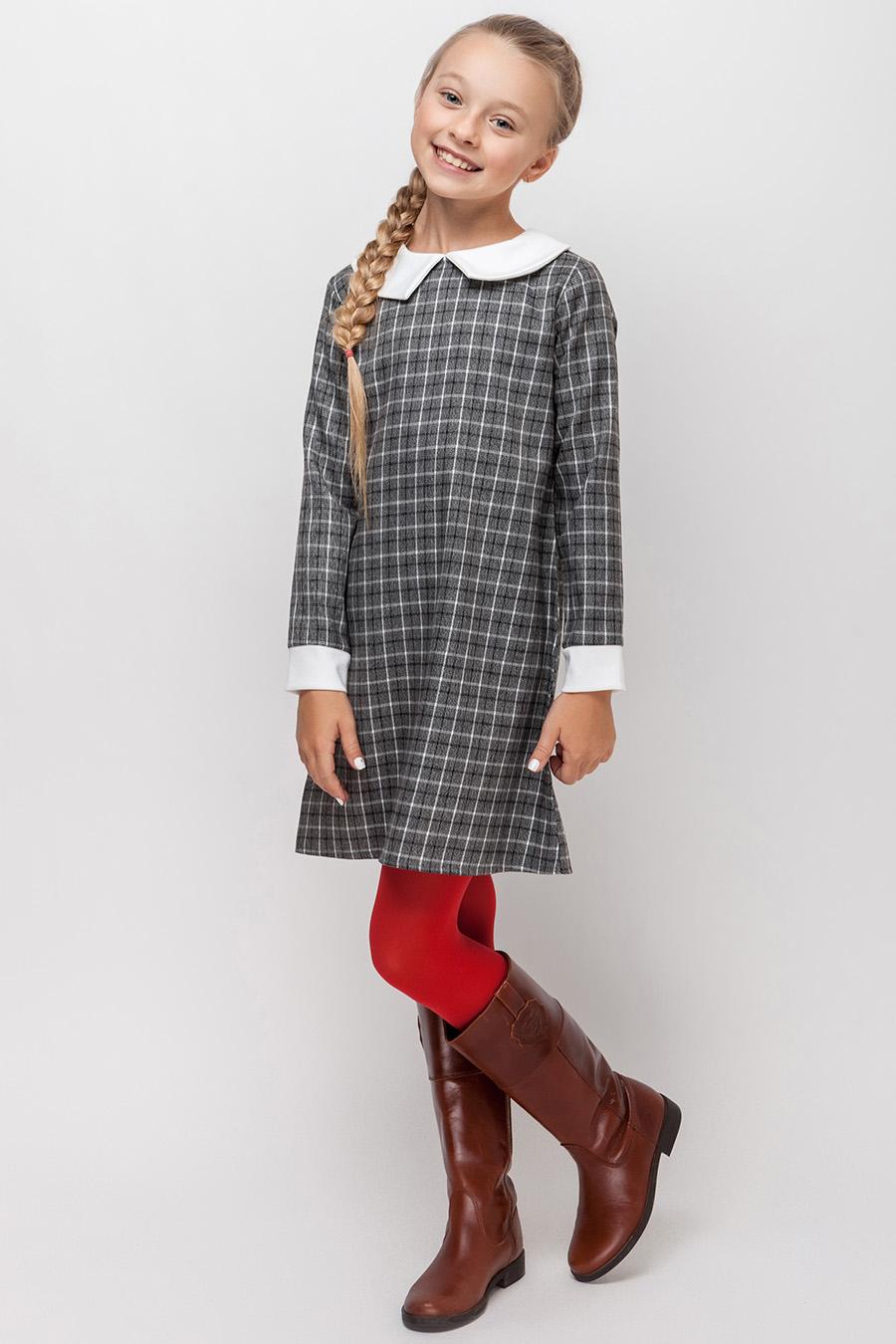 Платье для девочки «клетка»