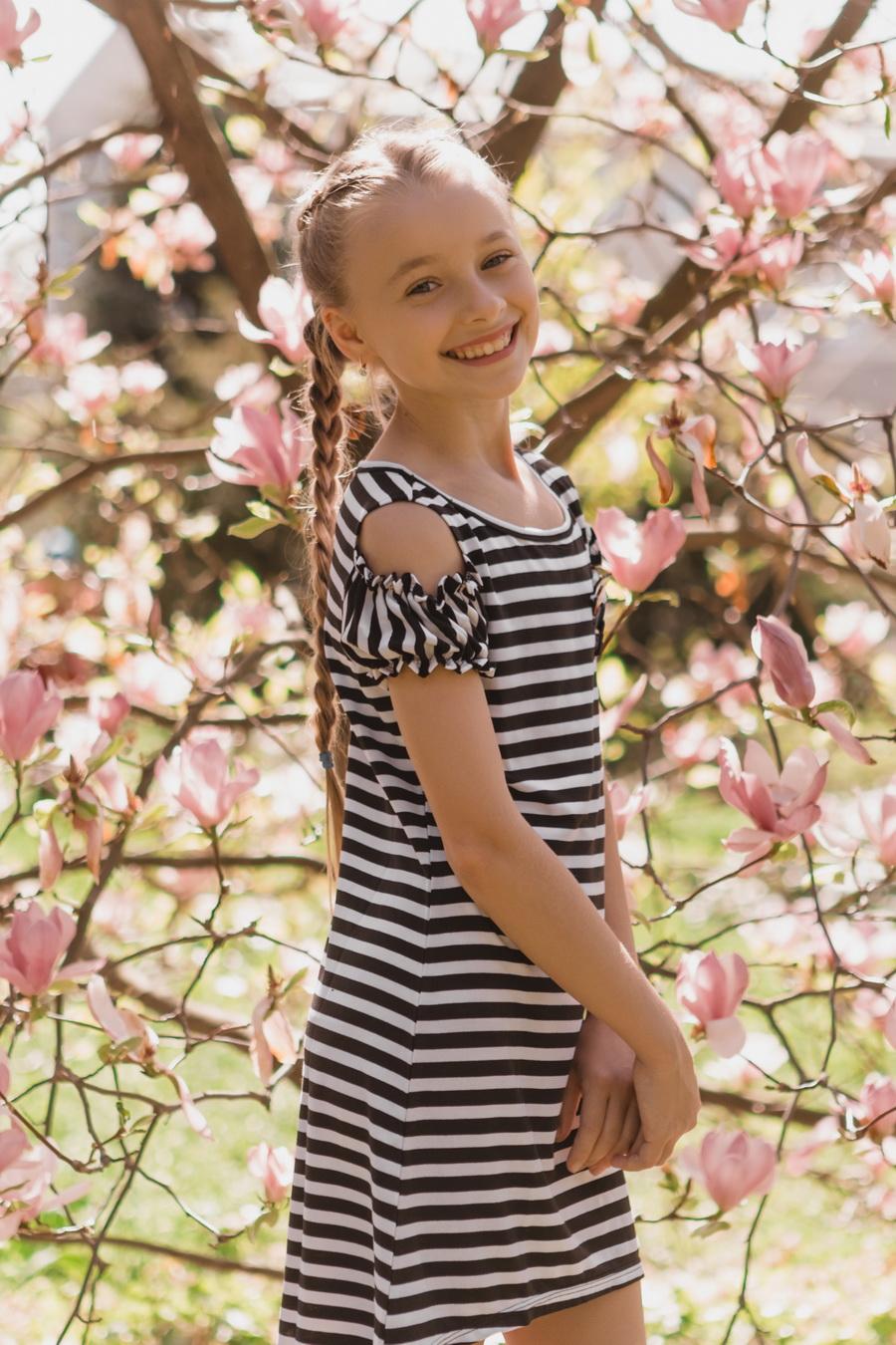 Платье для девочки «l-6»