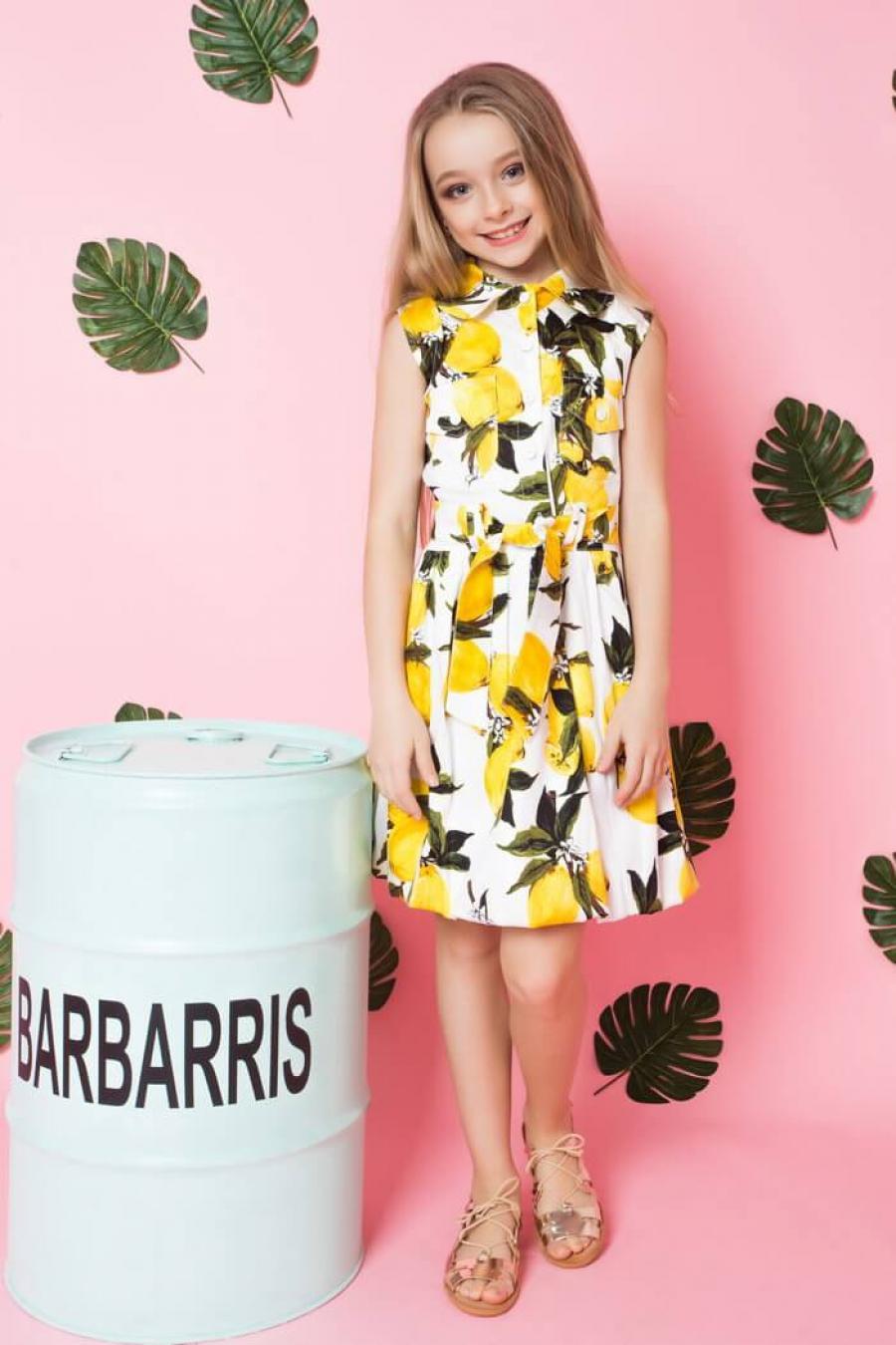Платье для девочки «l-8»