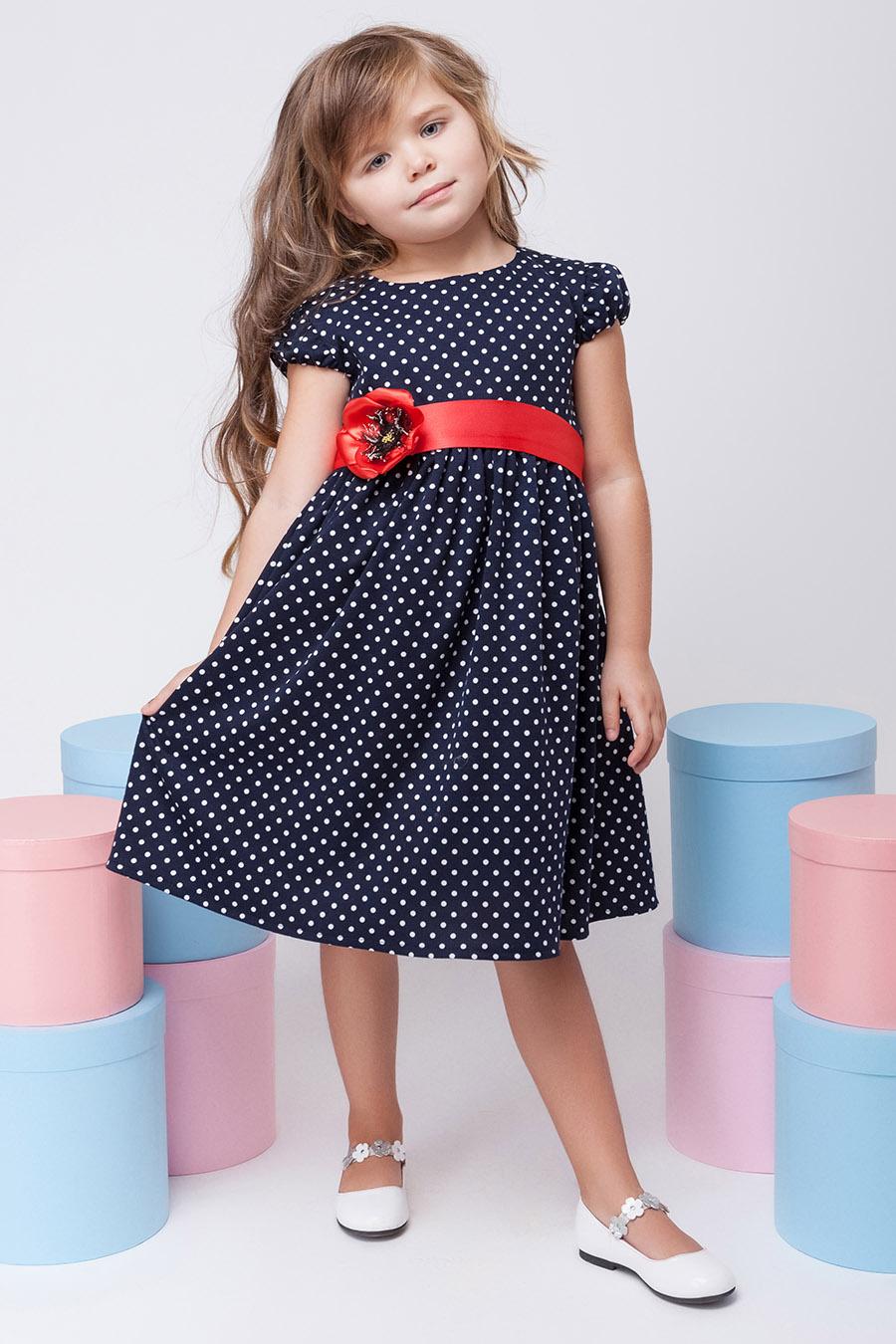 Платье для девочки «мак»