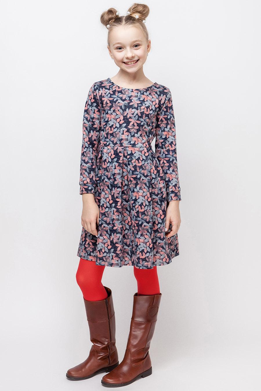 Платье для девочки «сакура»