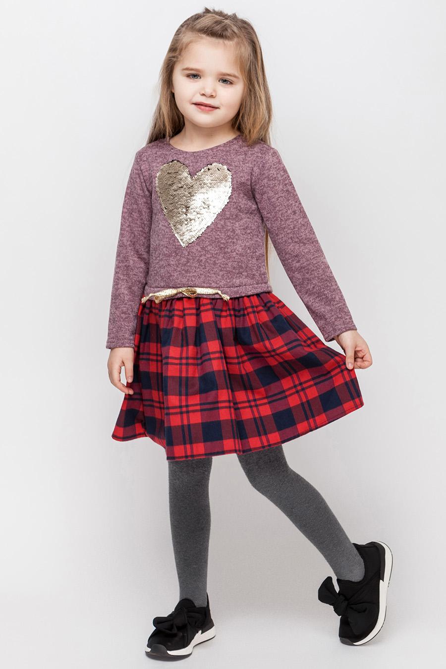 Платье для девочки «сердце»