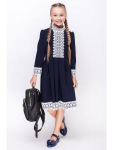 школьное платье для девочек «sh-55»