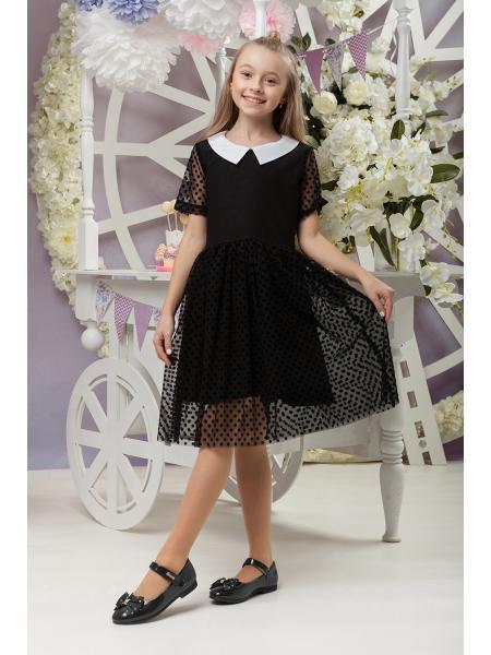 школьное платье для девочек «sh-60» изображение
