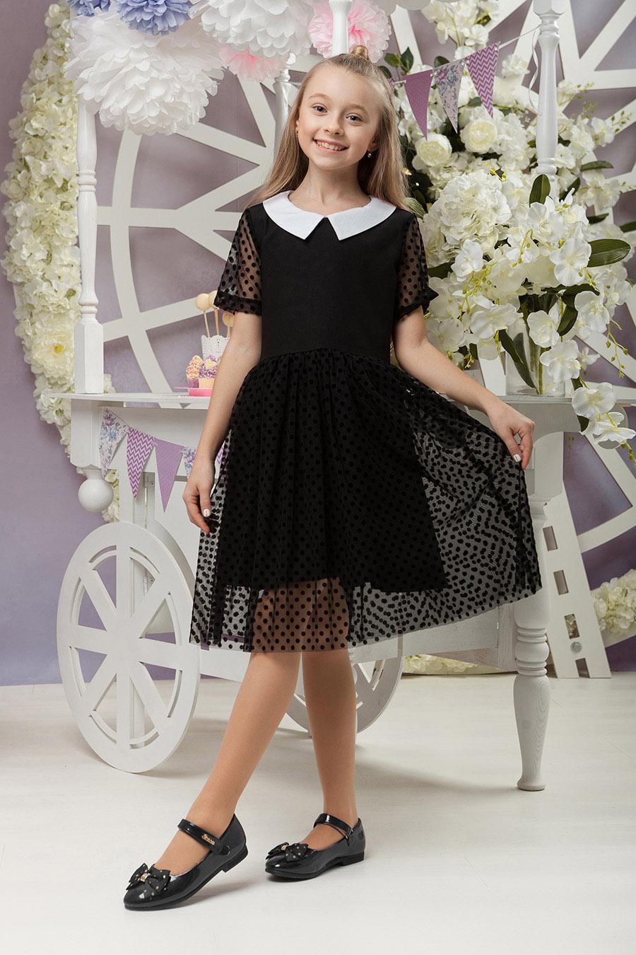Школьное платье для девочки «sh-60»