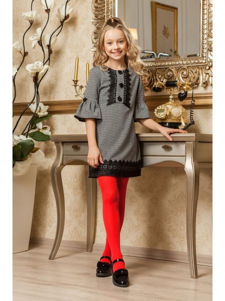 школьное платье для девочки «kr-8» изображение