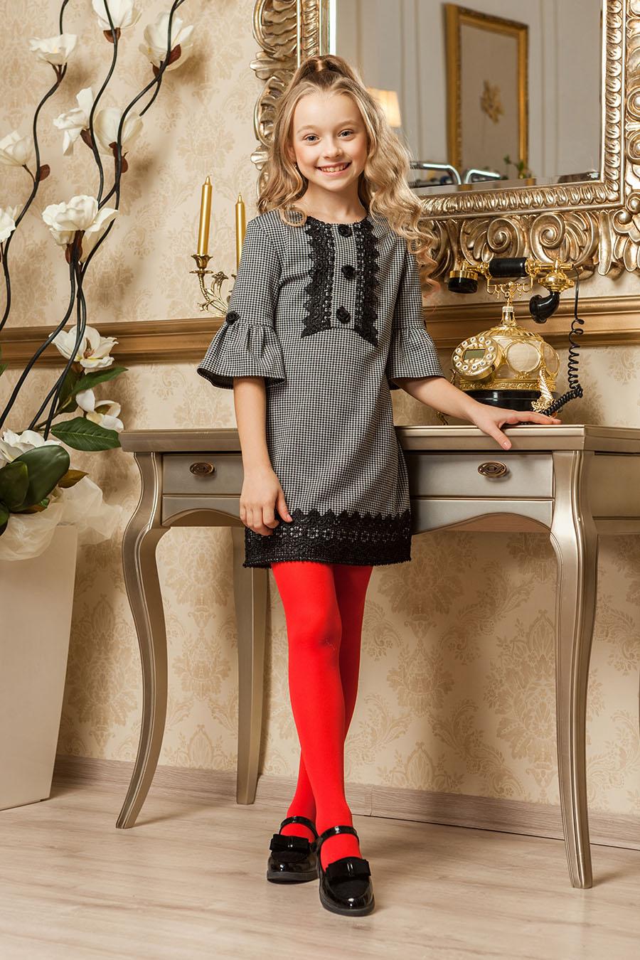 Школьное платье для девочки «kr-8»