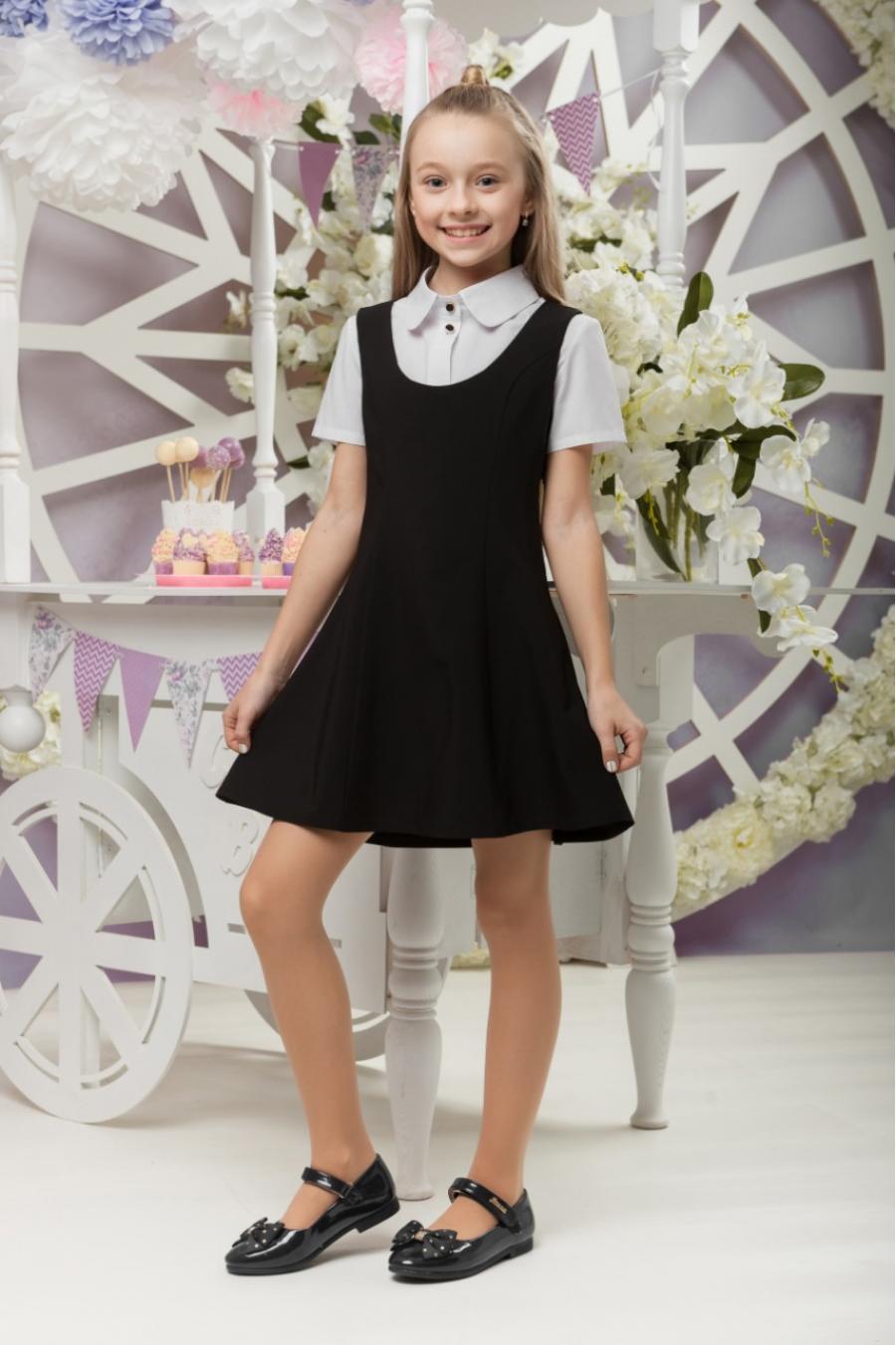 Школьное платье девочек «sh-44»
