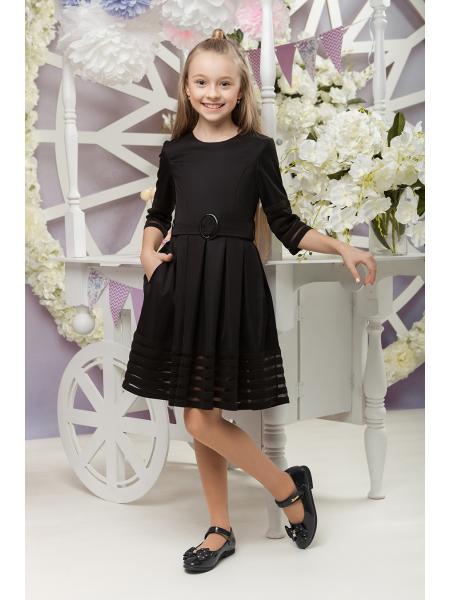 школьное платье для девочки «sh-58» изображение