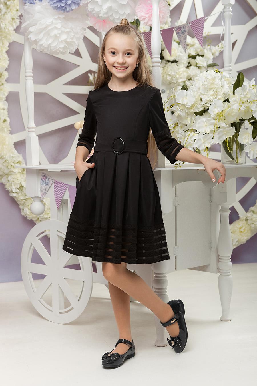 Школьное платье для девочки «sh-58»