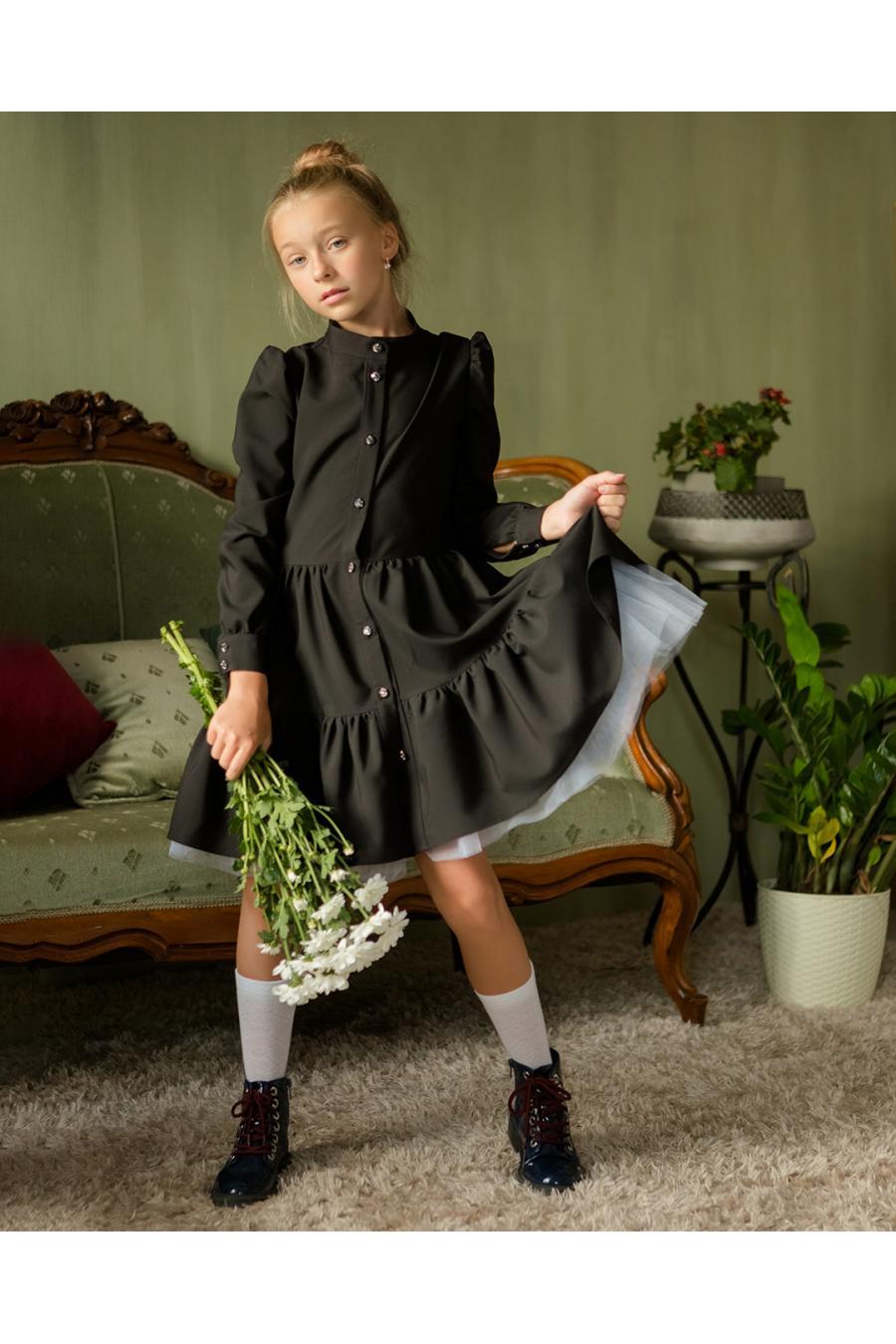 Школьное платье для девочки «sh-67»