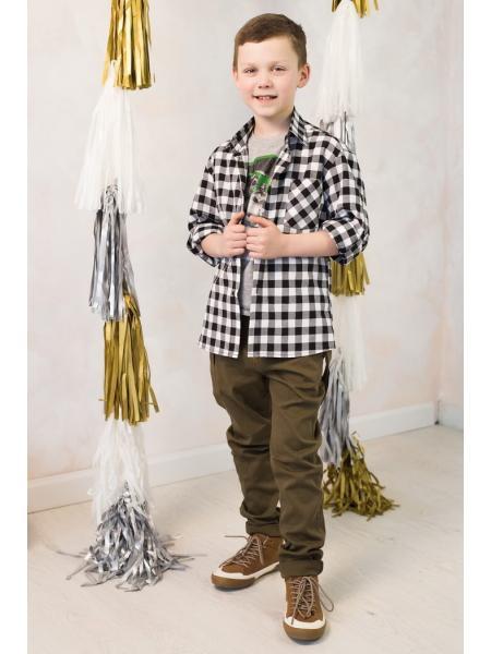 Рубашка для мальчика Silver  изображение