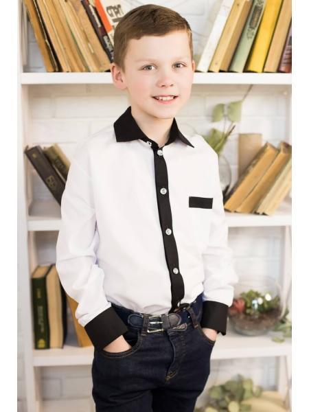 Рубашка для мальчика KS-14 изображение