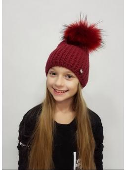 Фото шапка «вивьен» (на флисе)
