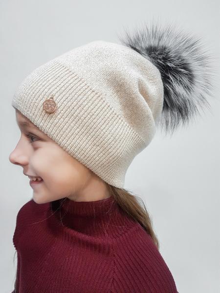 шапка «джесси» с чернобуркой изображение