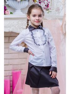 Школьная блузка для девочки SH-10
