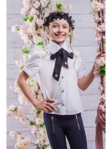 Школьная блузка для девочки sh23
