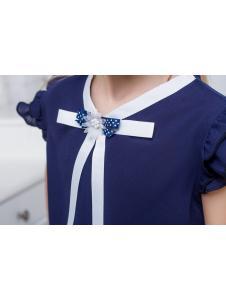 Школьная блузка для девочки sh28