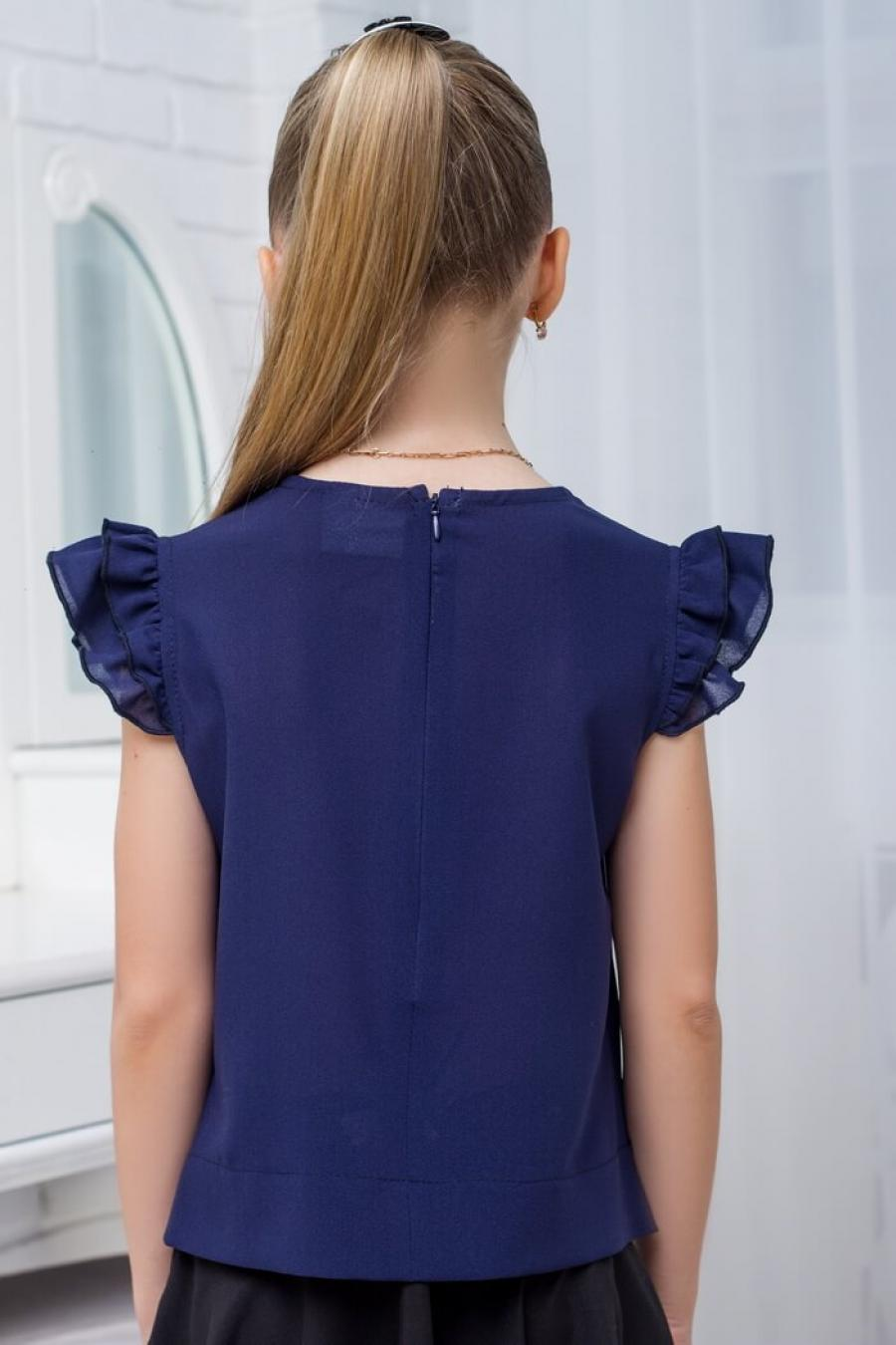 Купить красивую блузку школьную для девочки