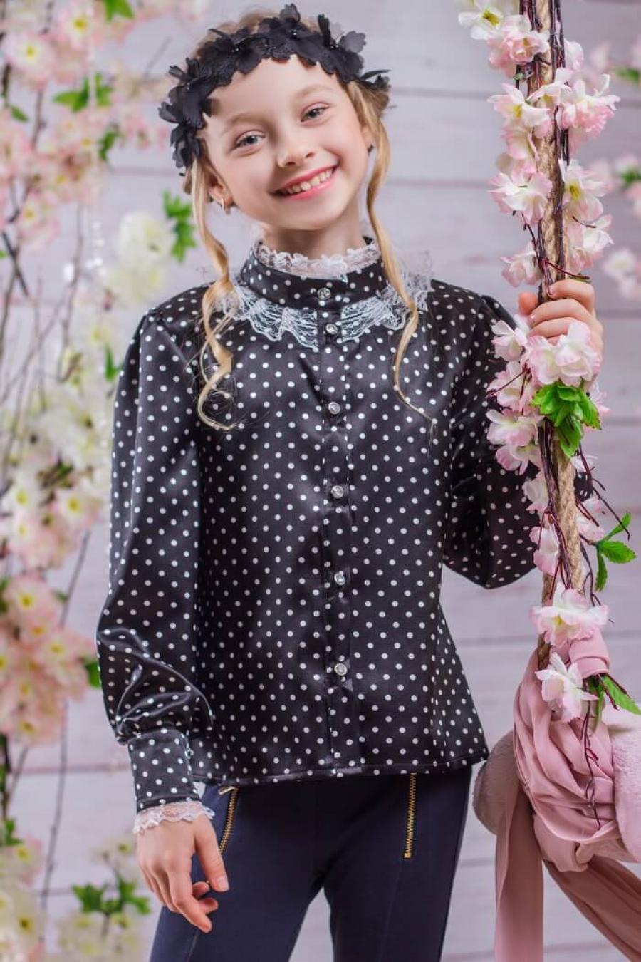 Купить блузку для девочки 8 лет