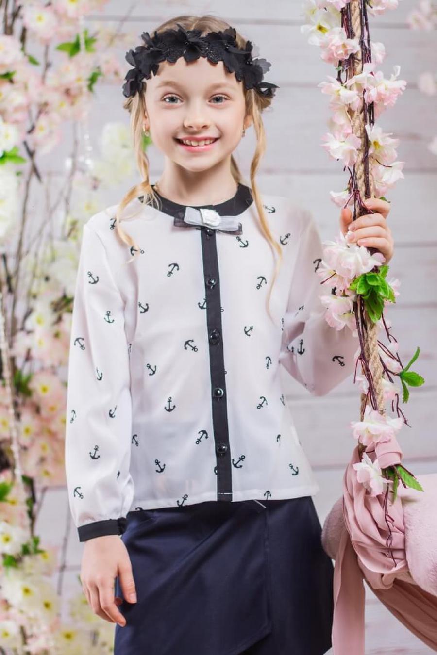 Где купить блузки для девочек школьные