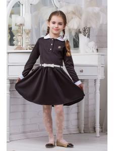 Школьное платье для девочки sh14