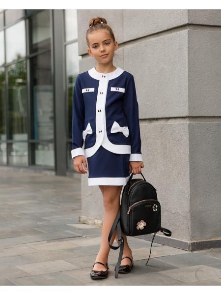 Школьный костюм для девочки sh15 изображение