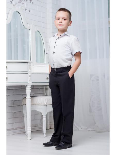 Школьная рубашка для мальчика sh30 изображение