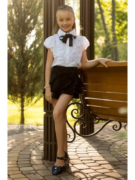 юбка-шорты для девочки b-10 изображение