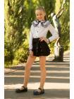 Юбка-шорты для девочки «b-10» изображение-3