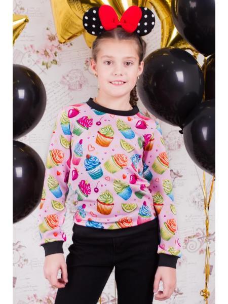 Детский свитшот Cake изображение