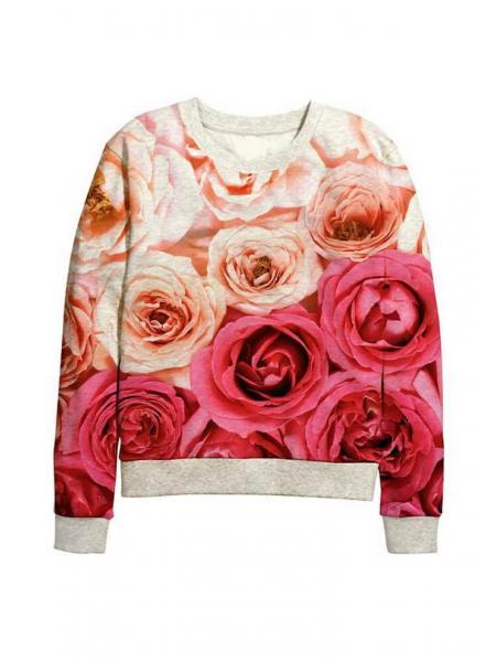 Детский свитшот Розы изображение