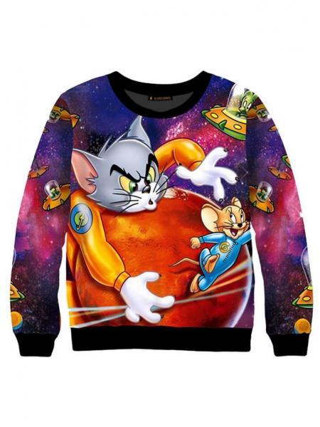 Детский свитшот для мальчика Tom and Jerry опт цена от производителя