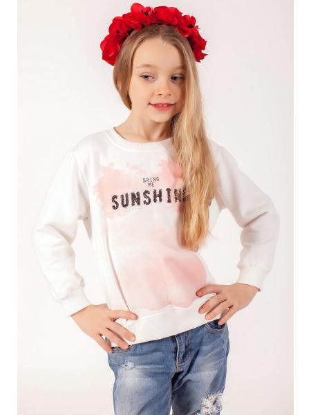 """Детская толстовка свитшот """"Sunshine"""""""